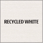 Recycled White Fabric 100% post consumer waste recycled fabric for trade show table cloths